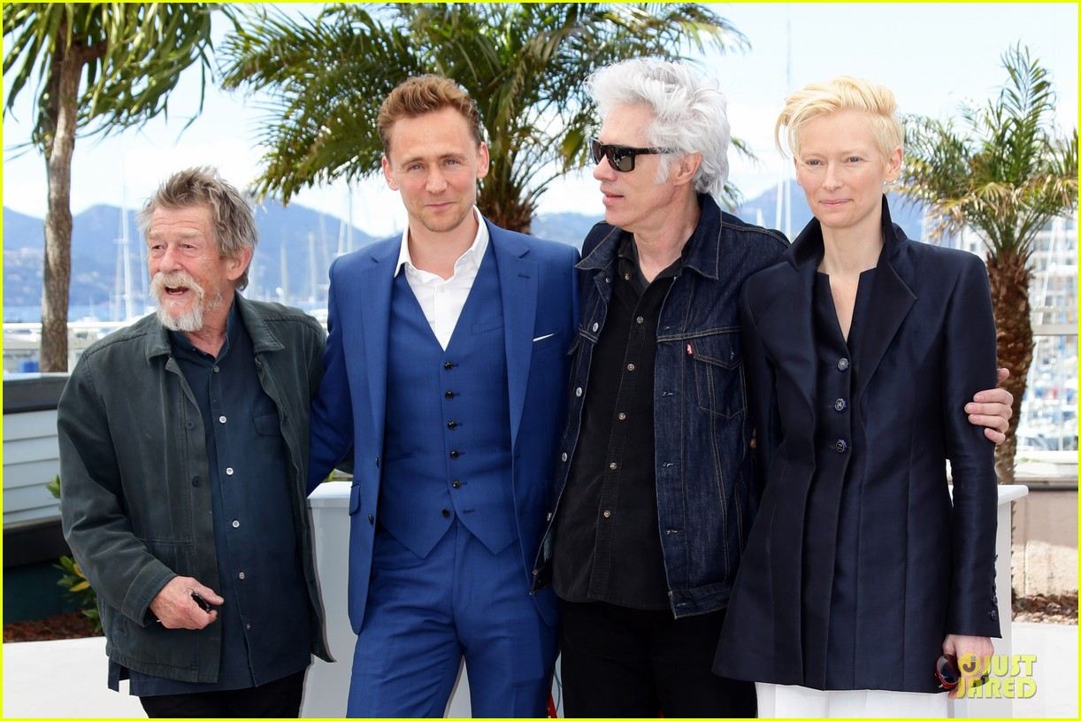 tom hiddleston tilda swinton only lovers left alive cannes photo call 15