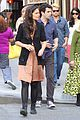 katie holmes luke kirby dinner after mania days filming 05