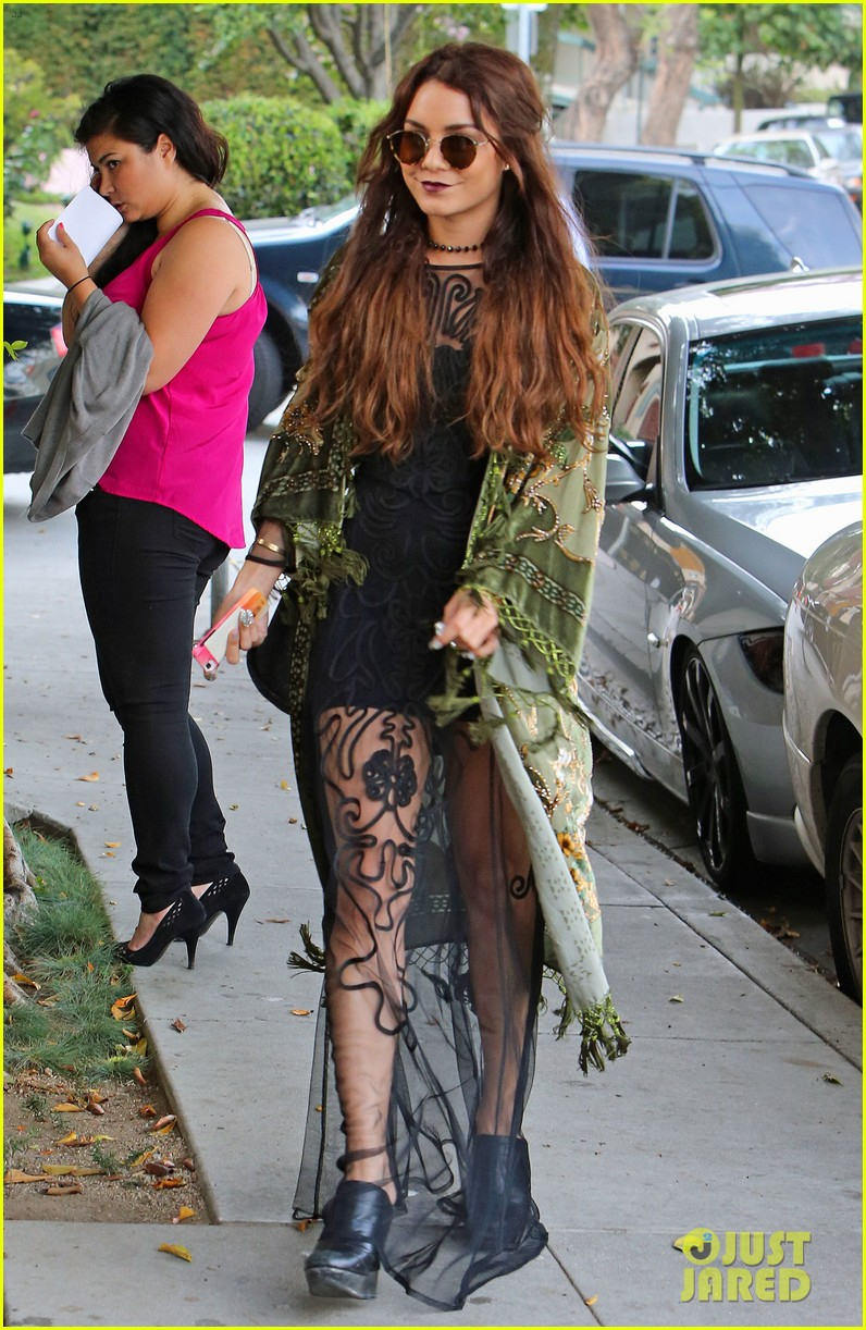 vanessa hudgens hipster chic style at hair salon 162872159