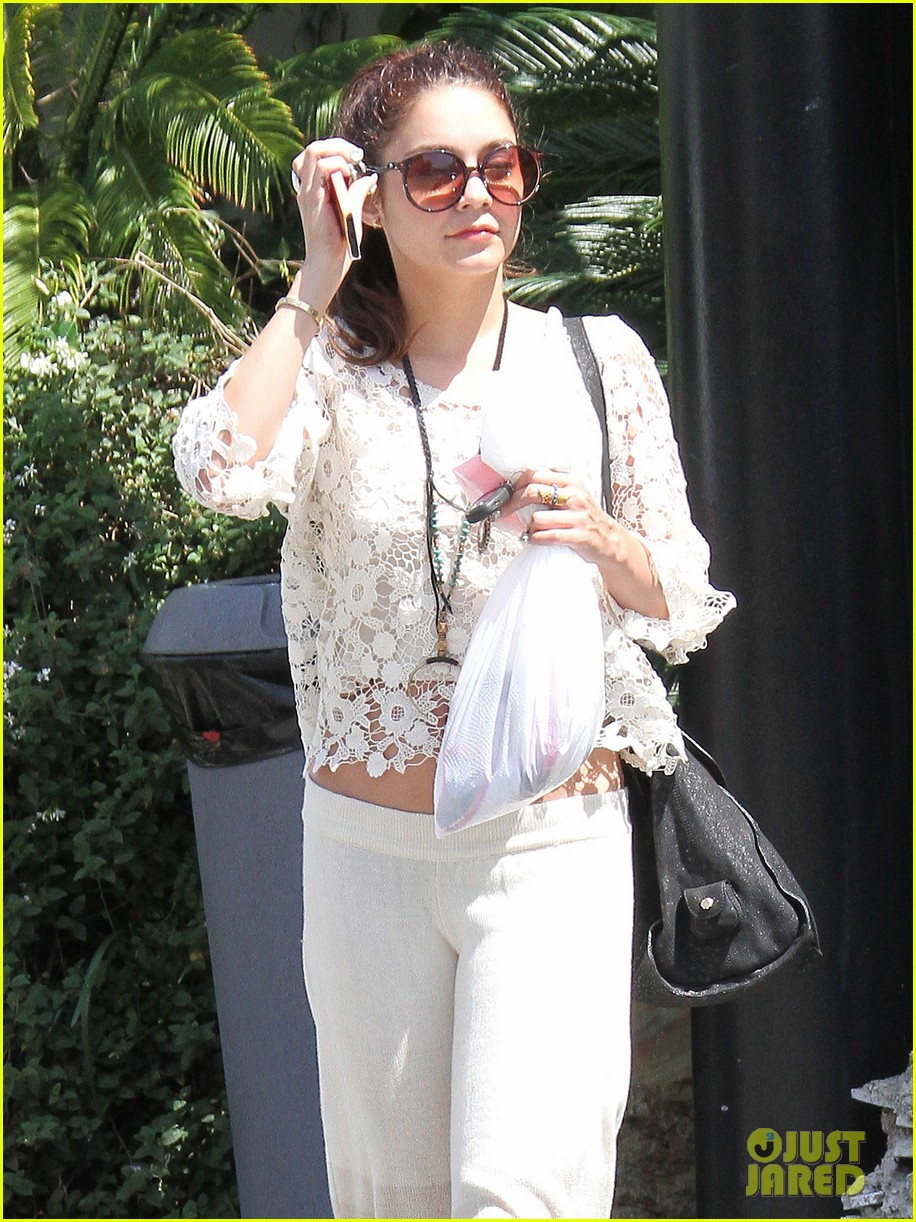 vanessa hudgens spa pampering pilates workout 122871260