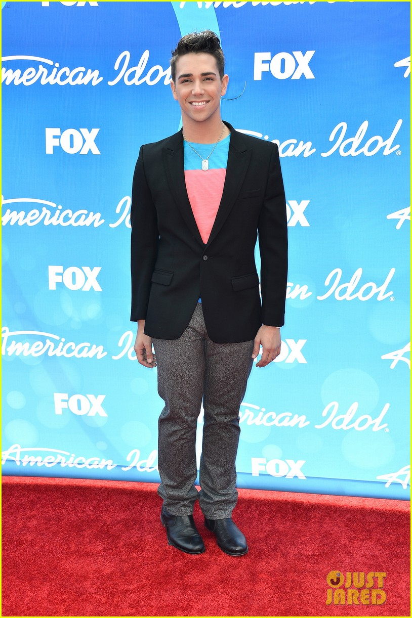 american idol top five guys walk finale red carpet 06