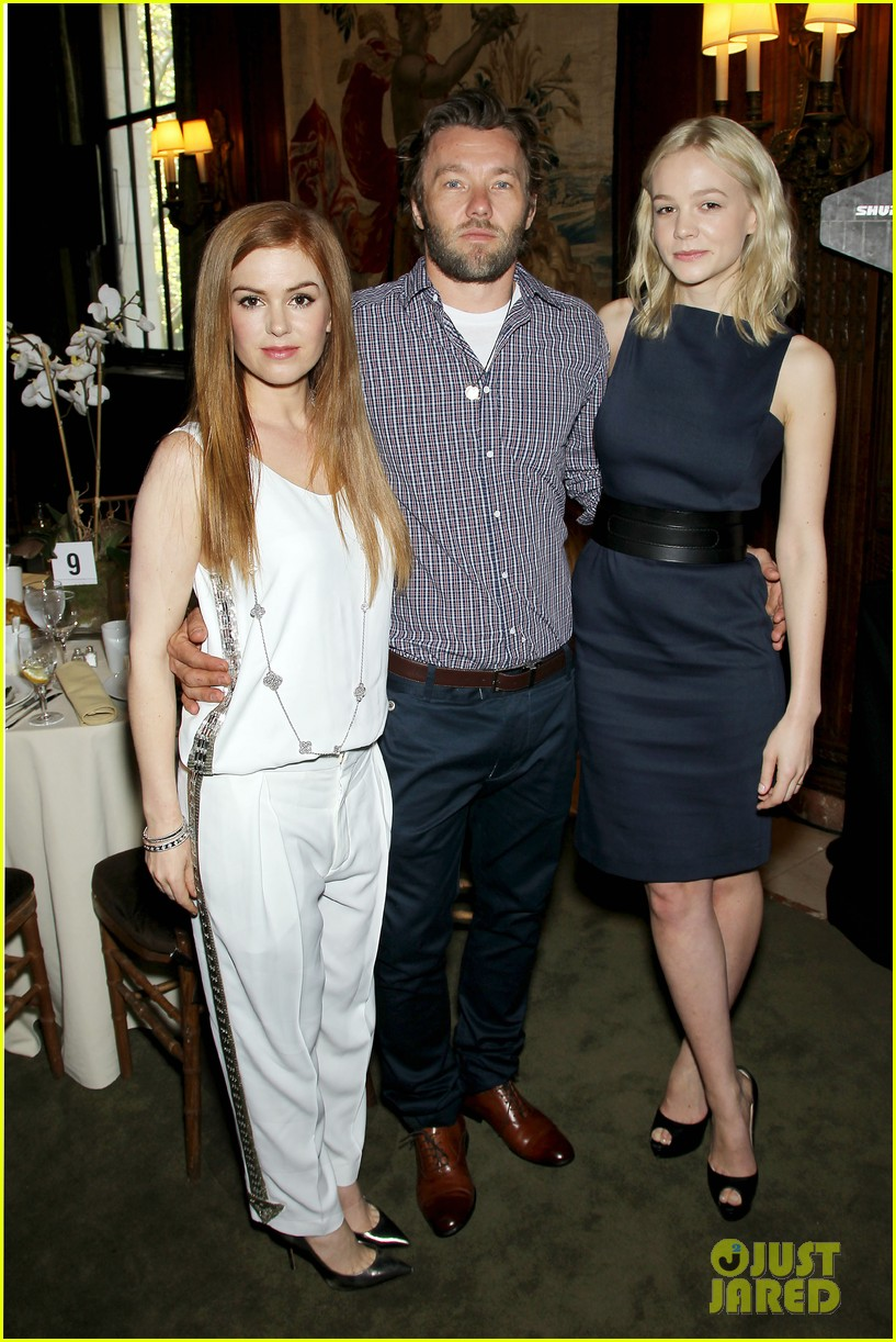 isla fisher carey mulligan great gatsby luncheon 18