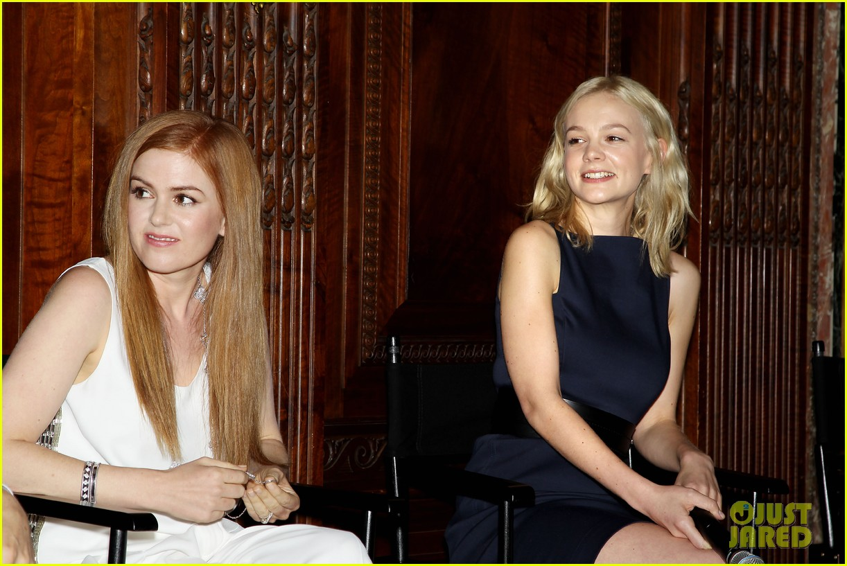 isla fisher carey mulligan great gatsby luncheon 332862578