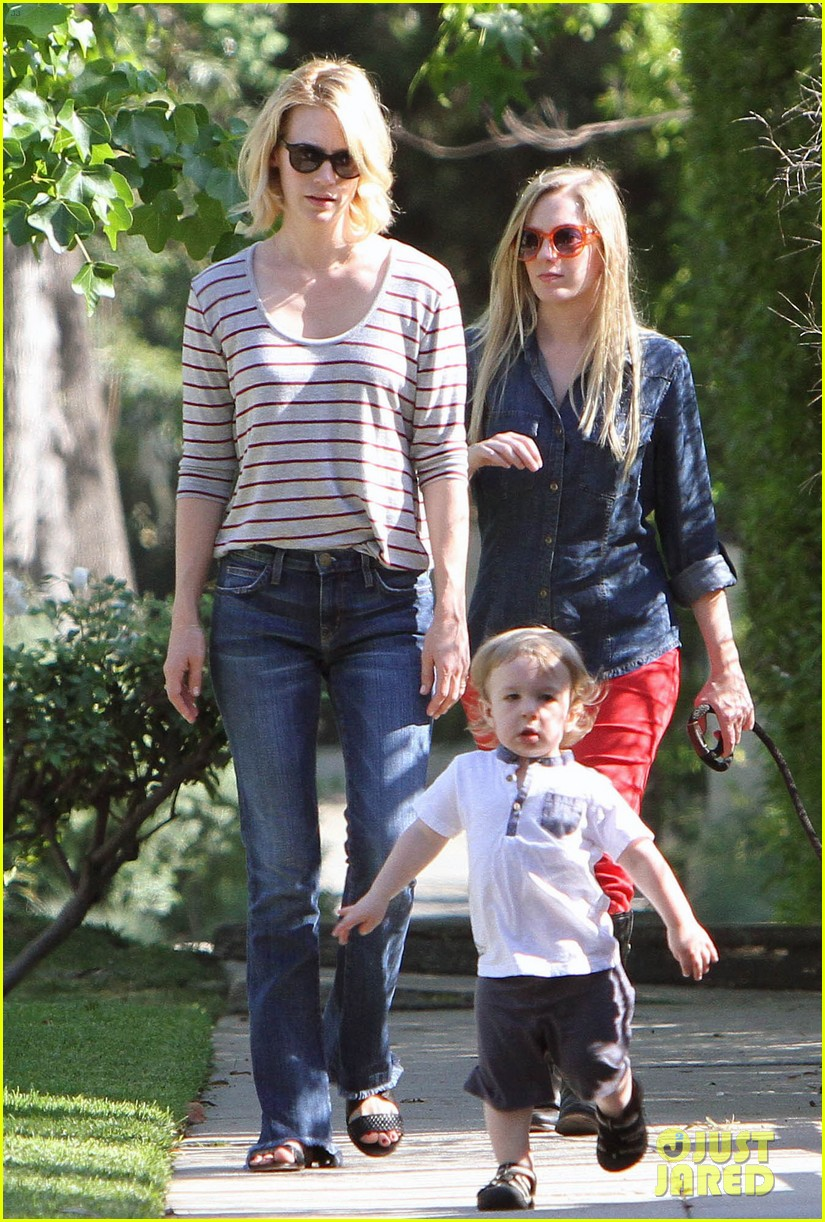 january jones xander walks in front of mommy 122869206