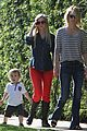 january jones xander walks in front of mommy 10