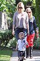 january jones xander walks in front of mommy 13