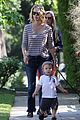 january jones xander walks in front of mommy 15