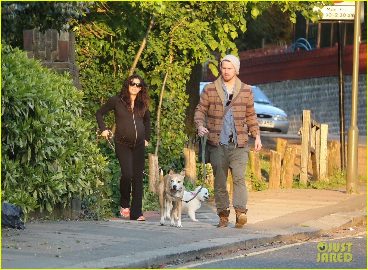 channing tatum jenna dewan take a dog walk following vet visit 052879104