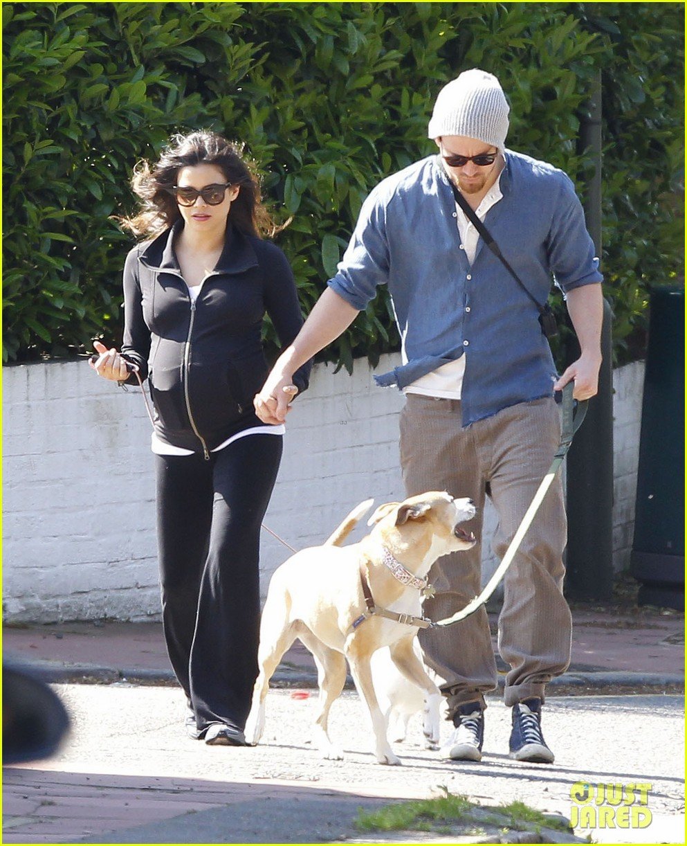 channing tatum jenna dewan take a dog walk following vet visit 092879108