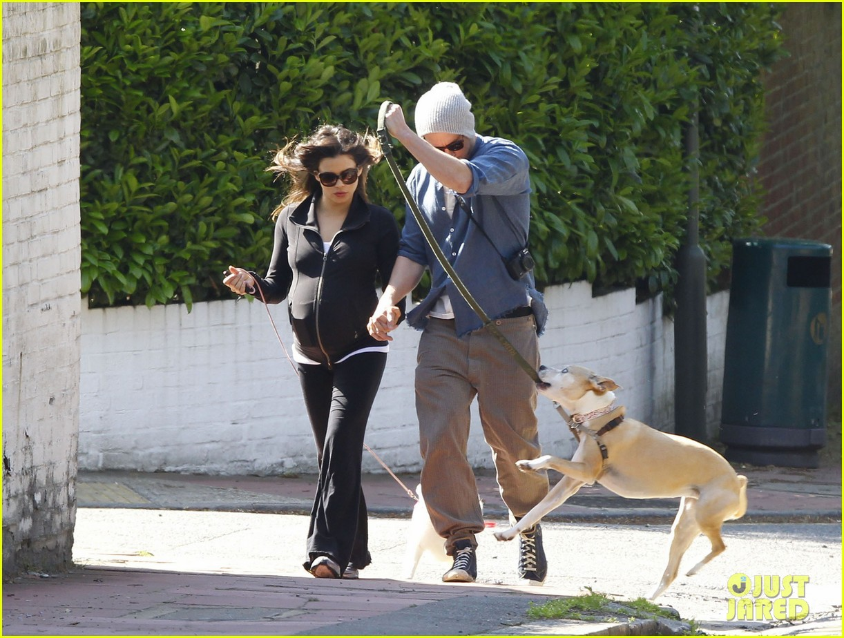 channing tatum jenna dewan take a dog walk following vet visit 10