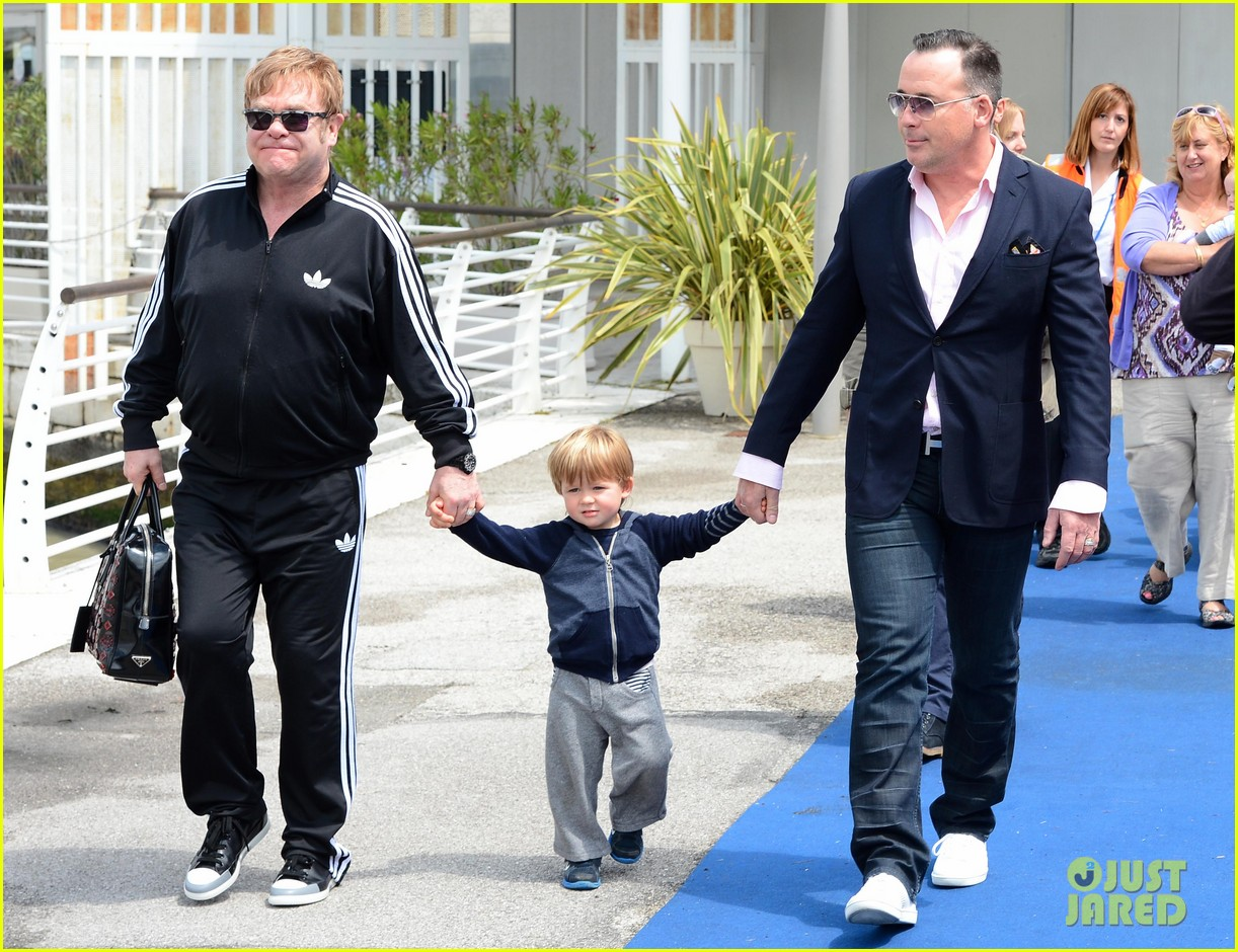 elton john david furniss family trip with zachary elijah 052879966
