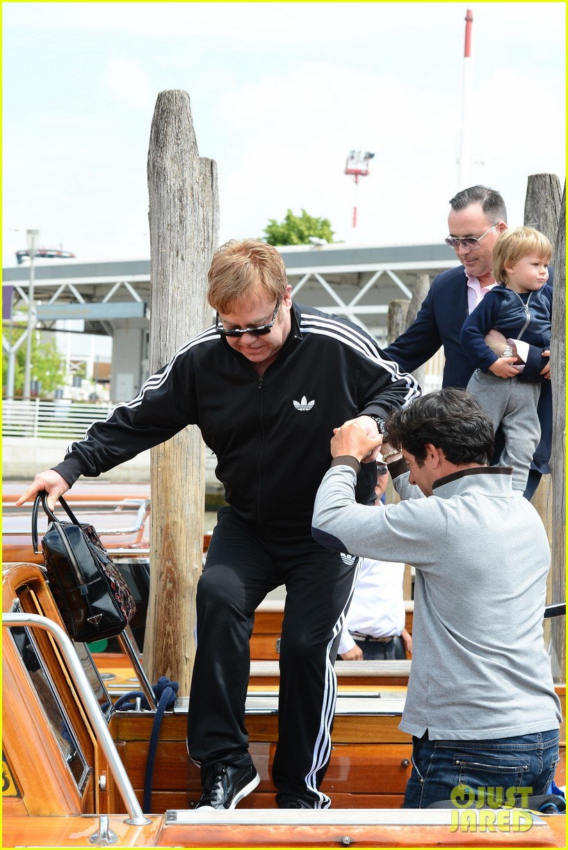 elton john david furniss family trip with zachary elijah 092879970