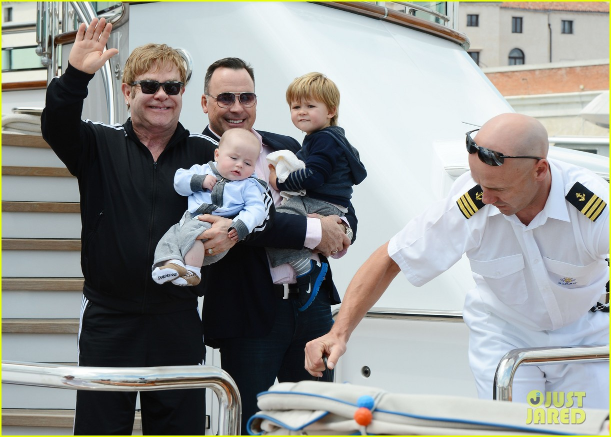 elton john david furniss family trip with zachary elijah 14