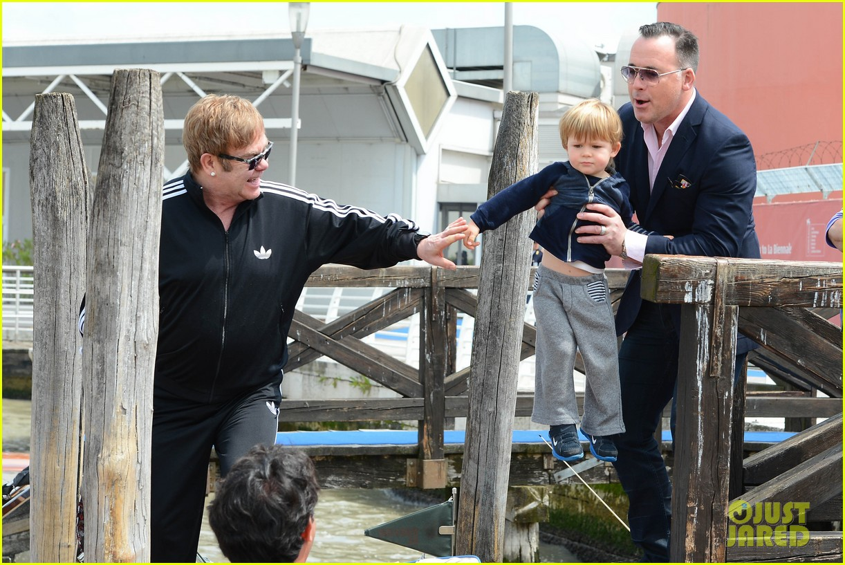 elton john david furniss family trip with zachary elijah 24