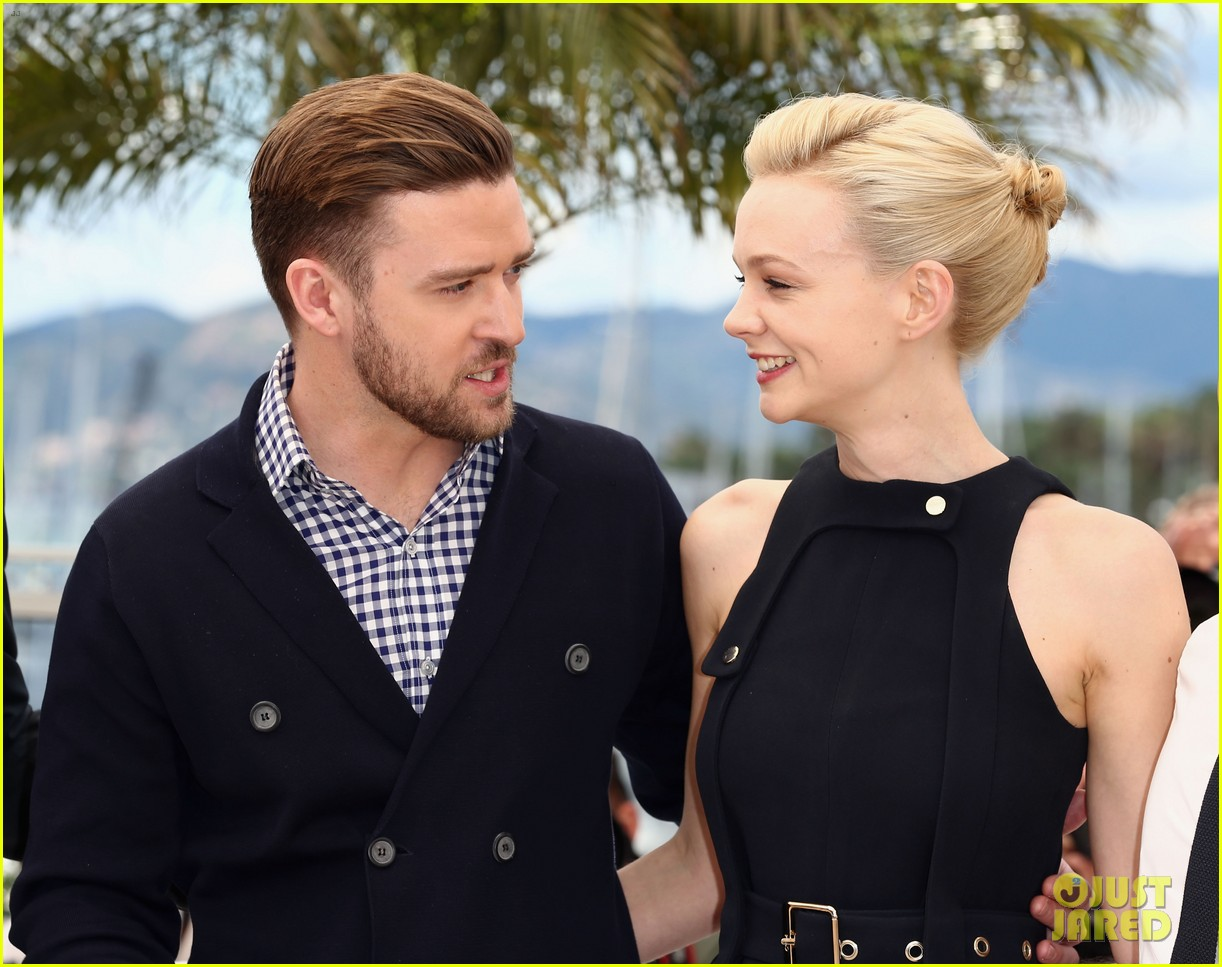 justin timberlake carey mulligan inside llewyn davis cannes photo call 33