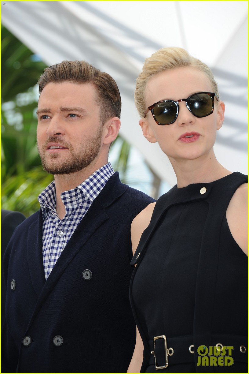 justin timberlake carey mulligan inside llewyn davis cannes photo call 41