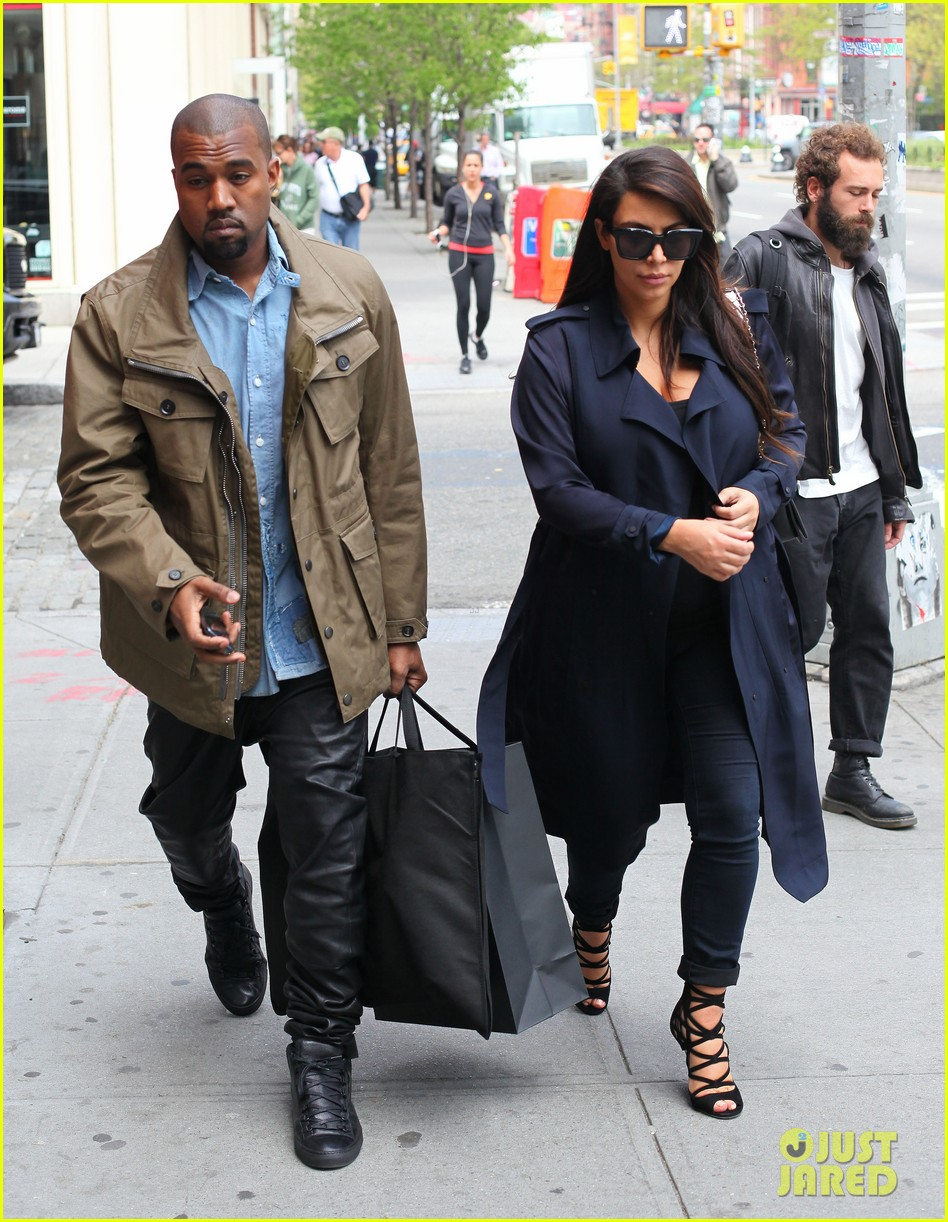kim kardashian kanye west dine at anna wintours home pre met ball 052864904
