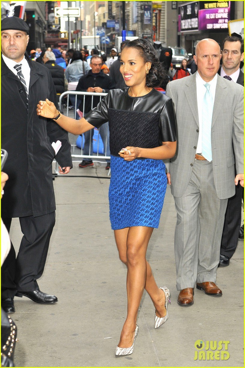 kerry washington good morning america appearance 01