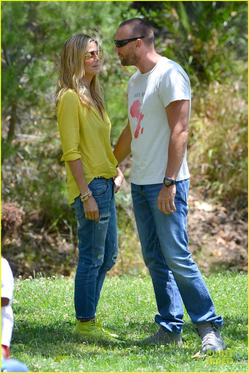 heidi klum martin kirsten pda weekend couple 092875071