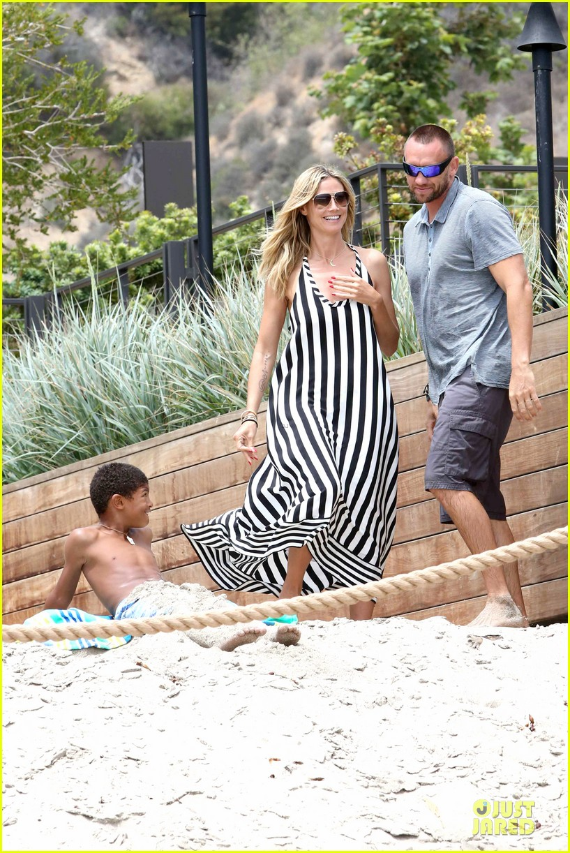 heidi klum martin kirsten pda weekend couple 372875099