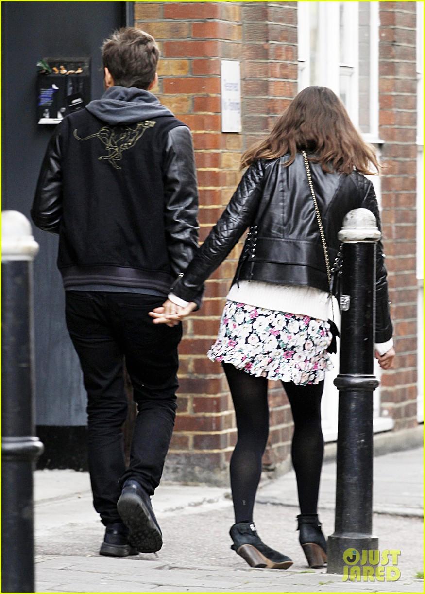 Keira Knightley & James Righton: Newlywed Stroll in London