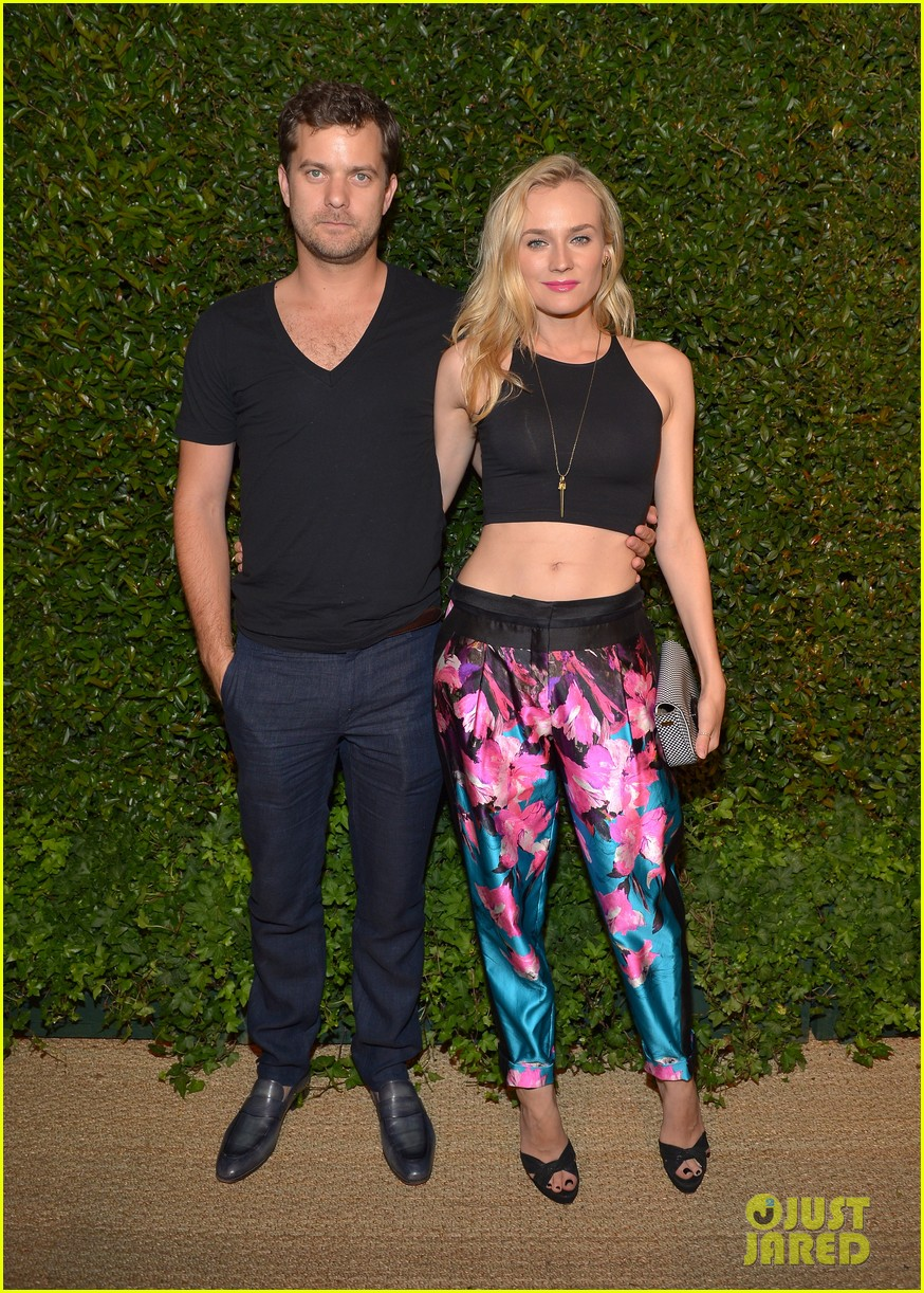 diane kruger joshua jackson vogue mac cosmetics dinner 10
