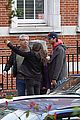 mila kunis ashton kutcher london coffee with the parents 28