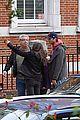 mila kunis ashton kutcher london coffee with the parents 28