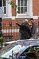 mila kunis ashton kutcher london coffee with the parents 29