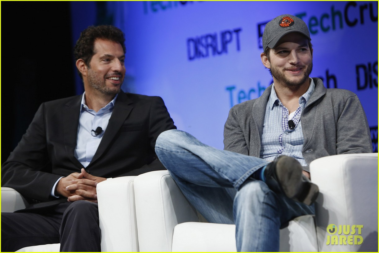 ashton kutcher techcrunch disrupt ny 02