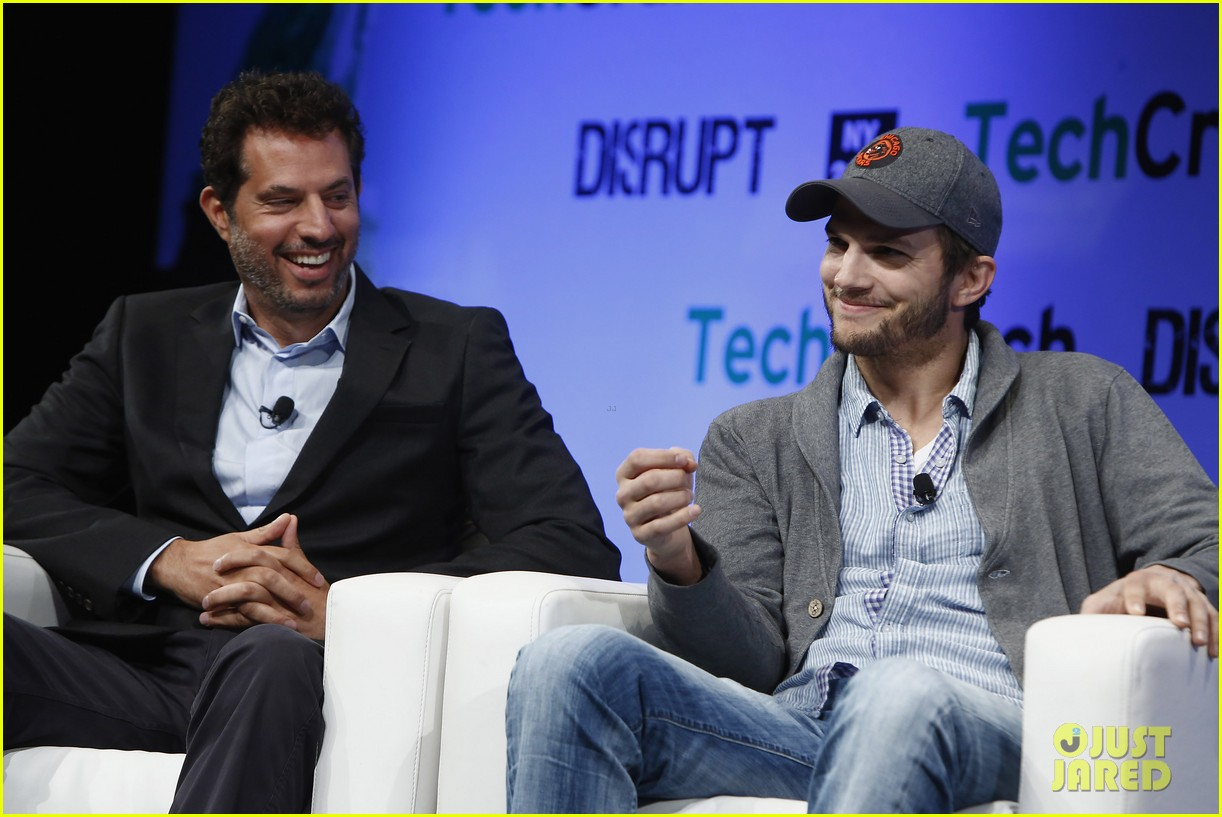 ashton kutcher techcrunch disrupt ny 042861901