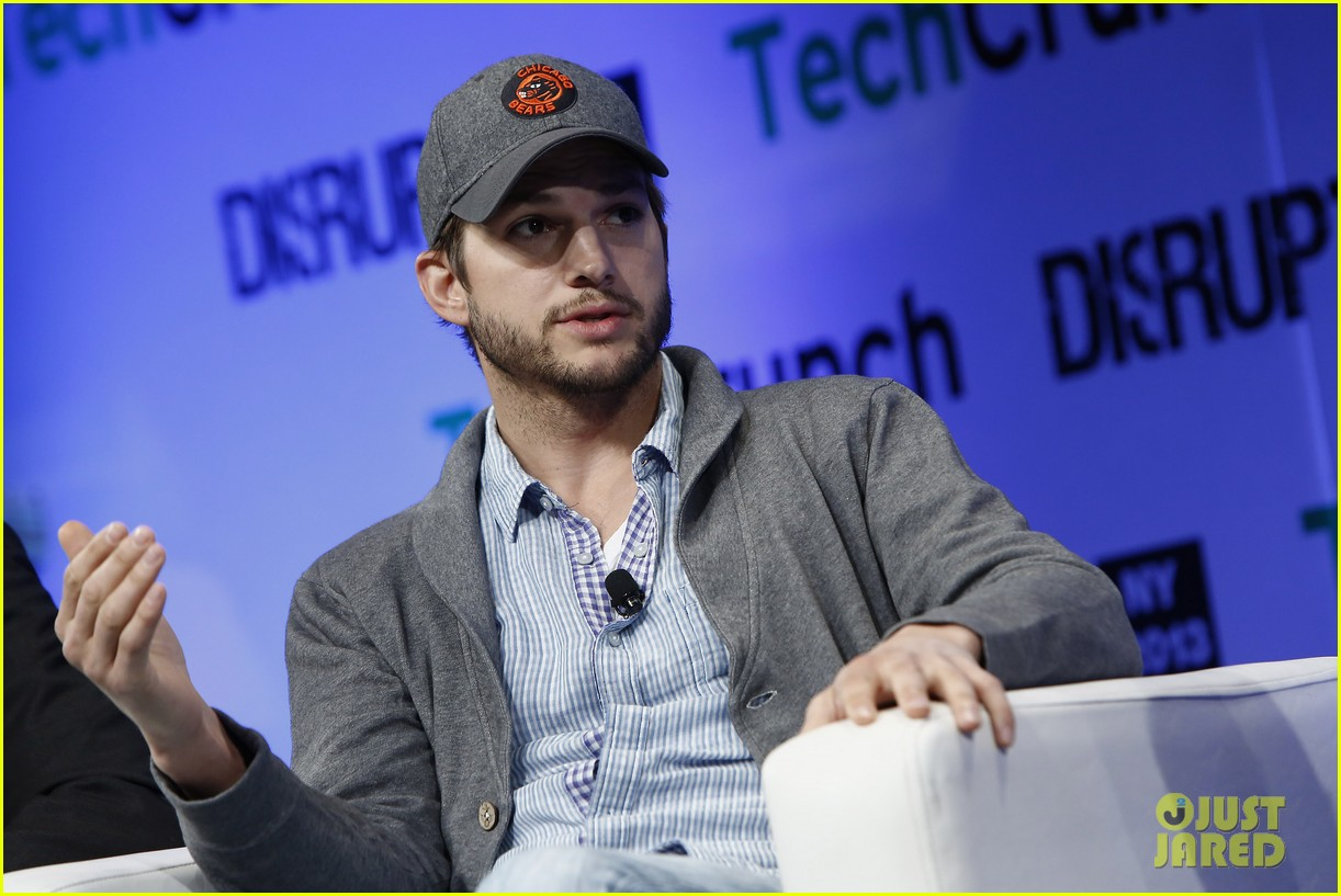 ashton kutcher techcrunch disrupt ny 13