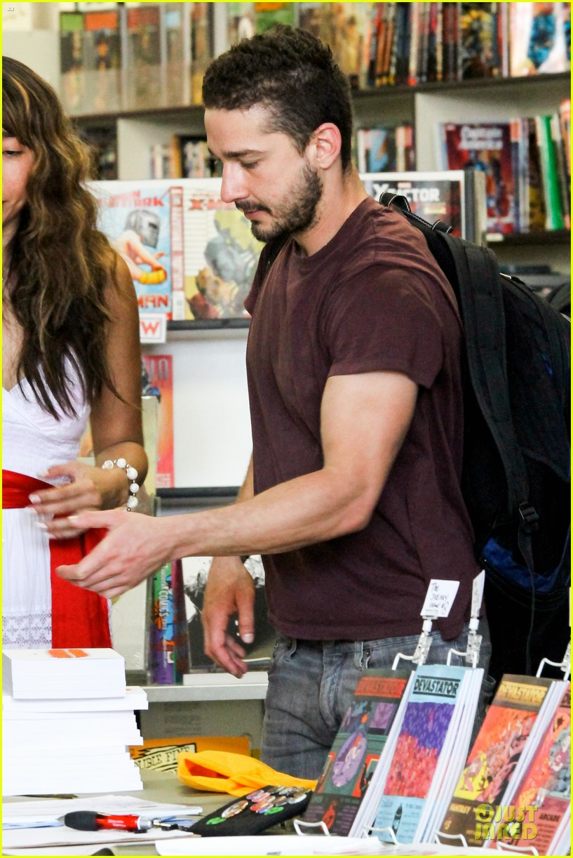 shia labeouf stale n mate book signing 222863621