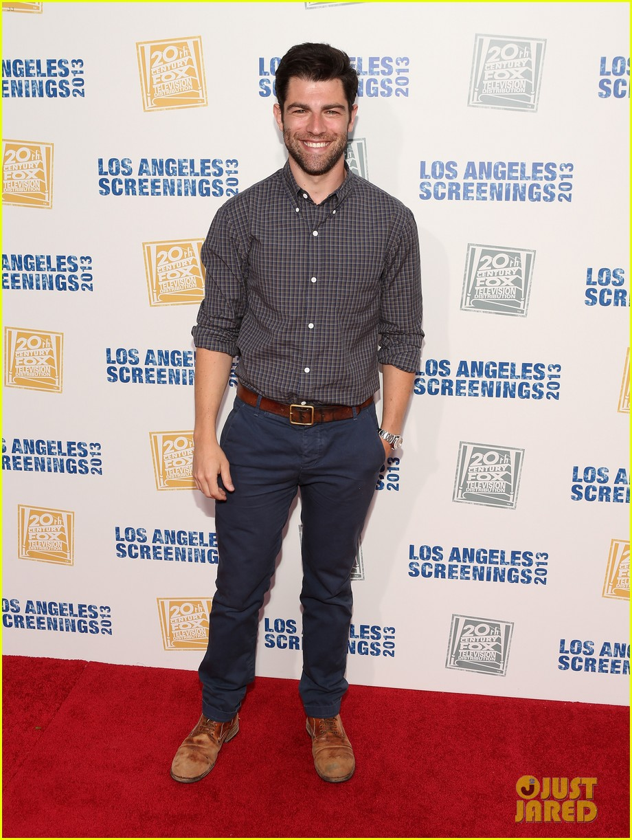 james lafferty max greenfield fox l a screenings lot party 13