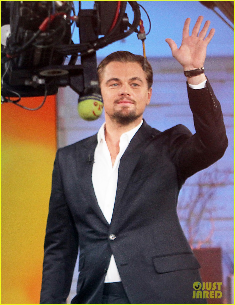 leonardo dicaprio good morning america guest 032866493