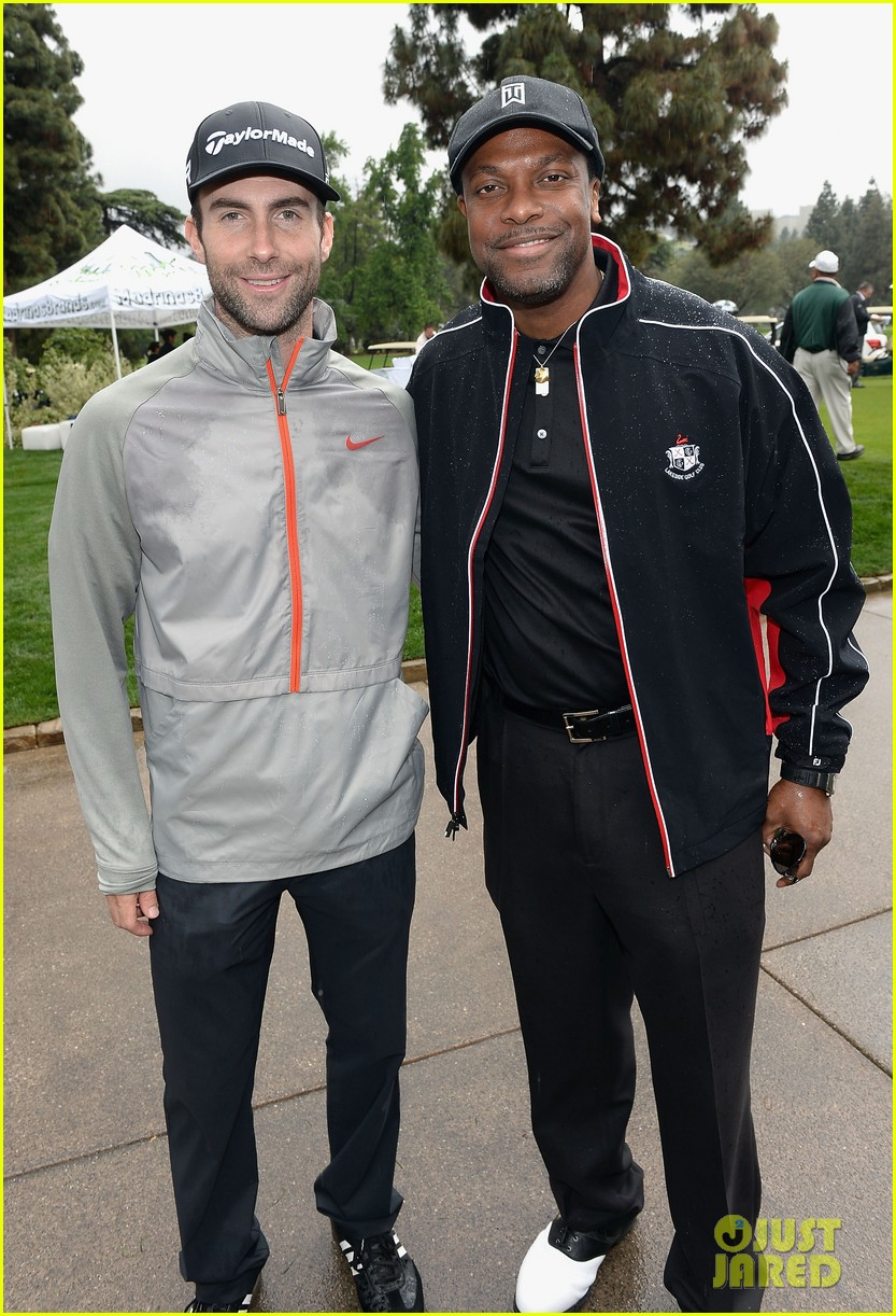 adam levine george lopez celebrity golf classic 2013 14