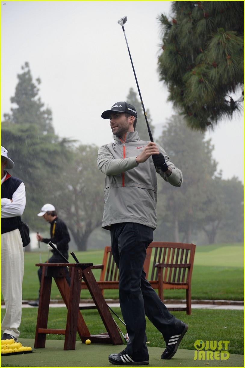 adam levine george lopez celebrity golf classic 2013 172865015
