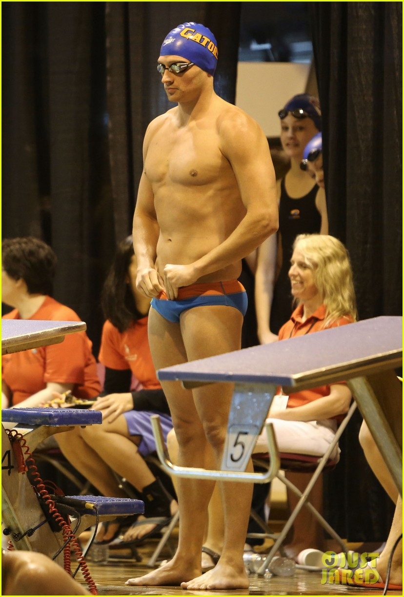ryan lochte shirtless speedo stud for mel zajac jr meet 212878254