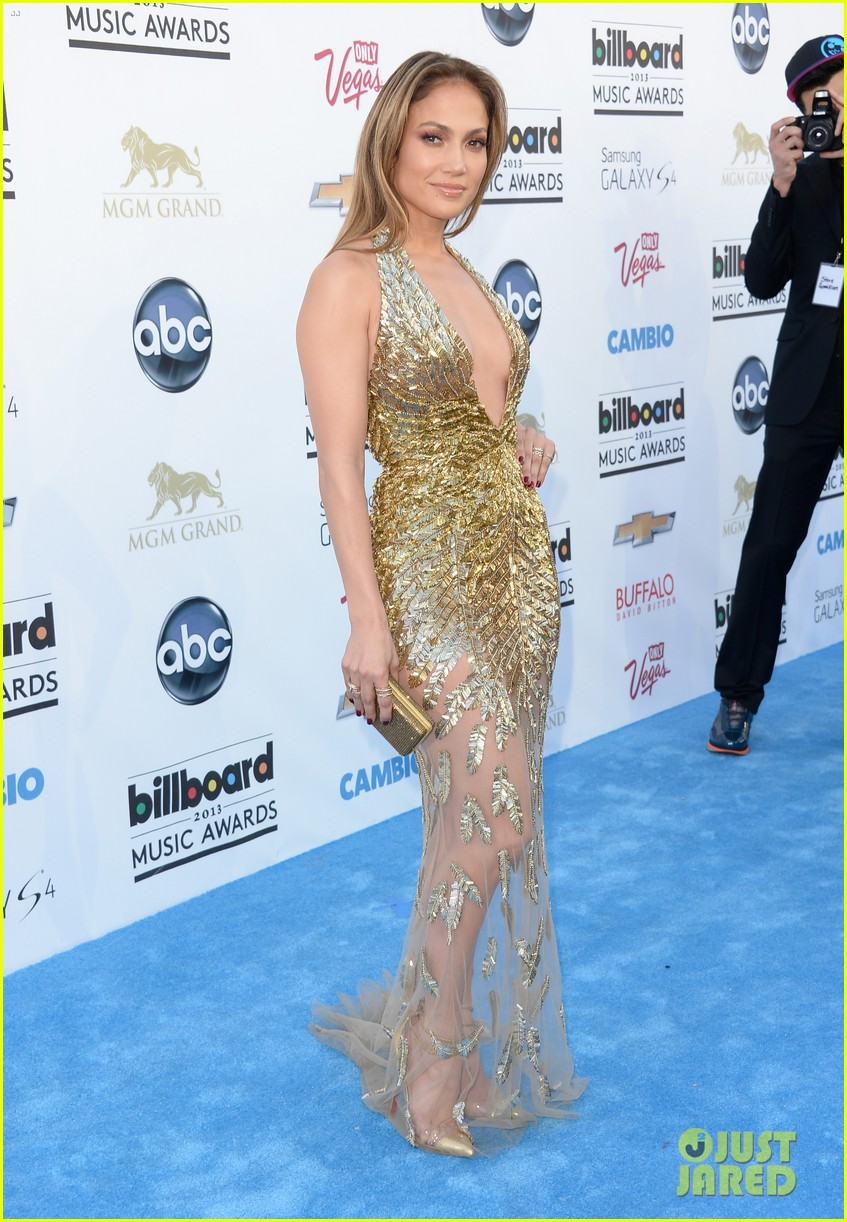 jennifer lopez billboard music awards 2013 with casper smart 052874001
