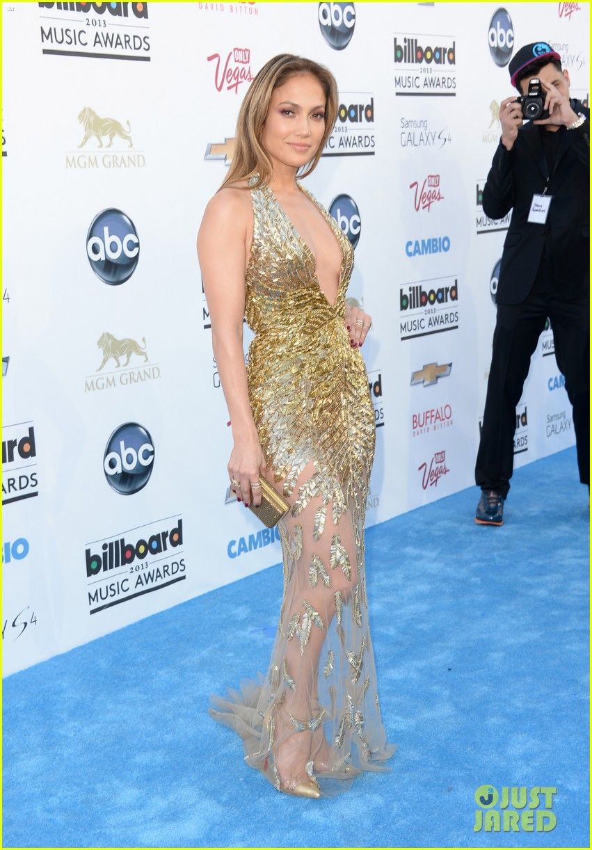 jennifer lopez billboard music awards 2013 with casper smart 112874007