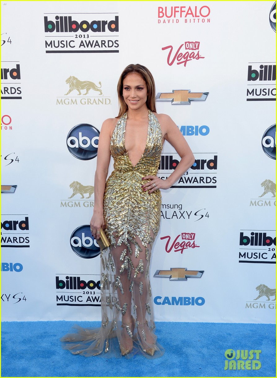 jennifer lopez billboard music awards 2013 with casper smart 132874009