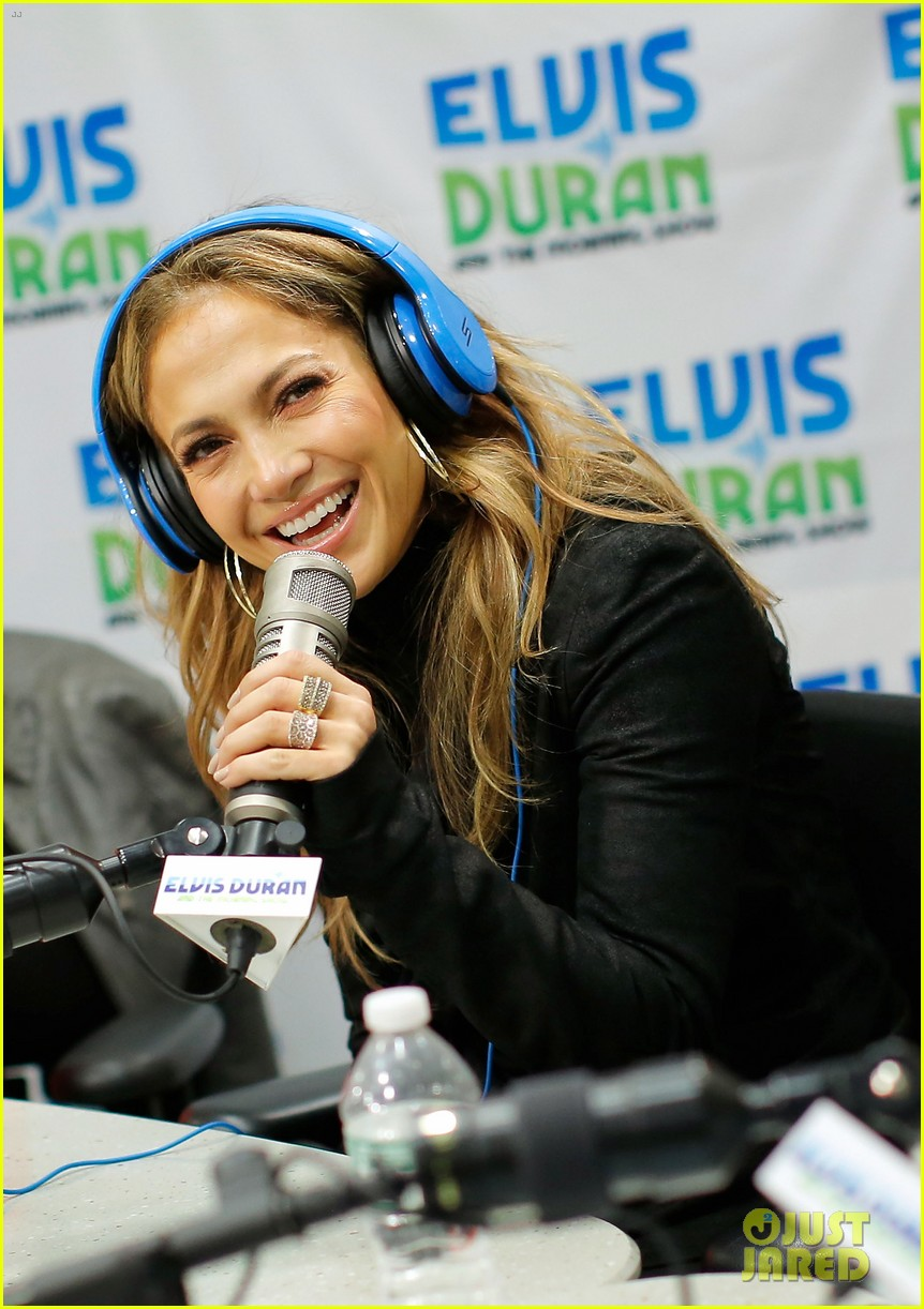 jennifer lopez visits z100 studios after releasing new song 022866840