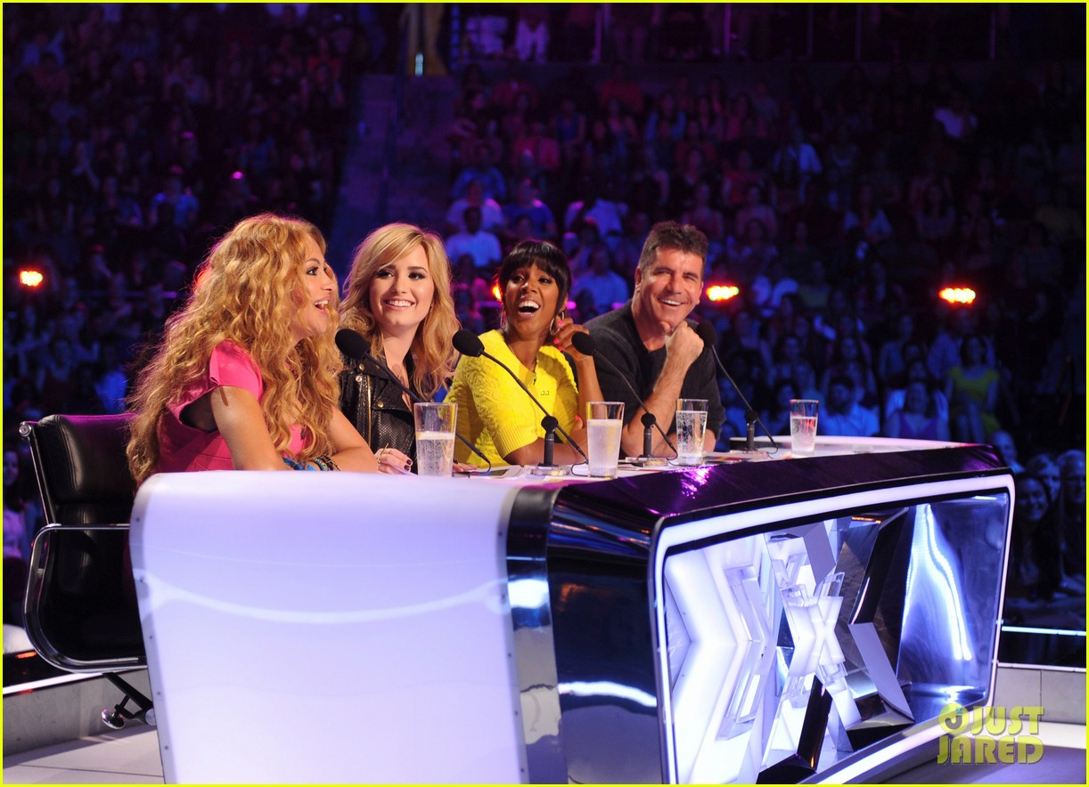 demi lovato kelly rowland x factor season 3 panel pics 05