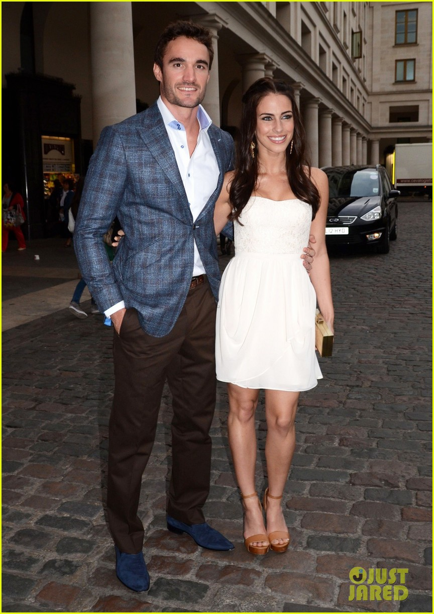 jessica lowndes thom evans casio london birthday party 06