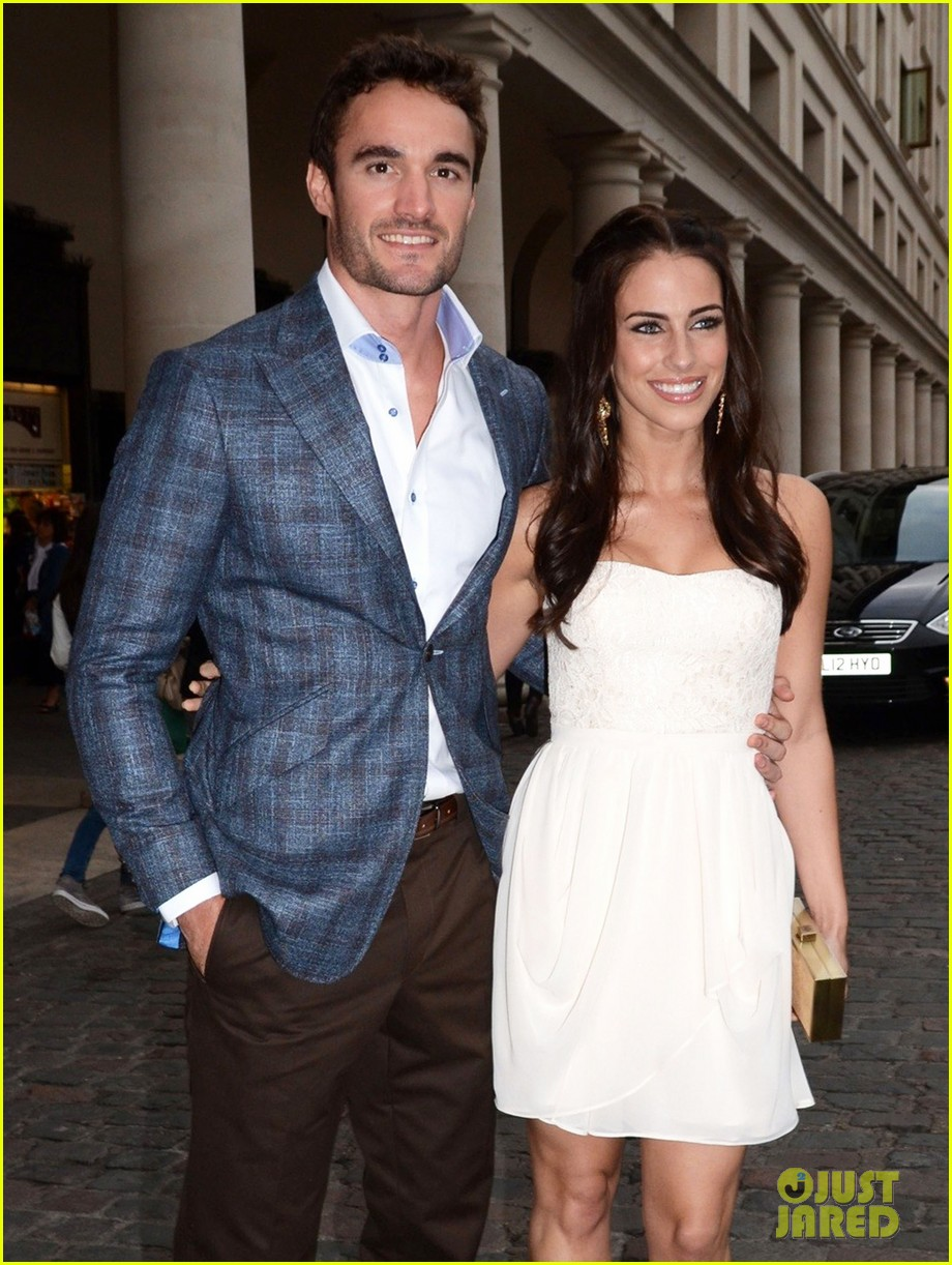 jessica lowndes thom evans casio london birthday party 07