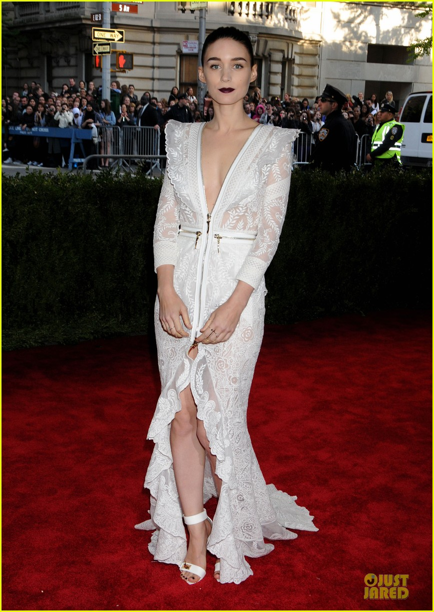 Rooney Mara in custom Givenchy at the 2013 Met Gala