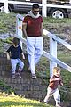 ricky martin bronte park with the twins 07