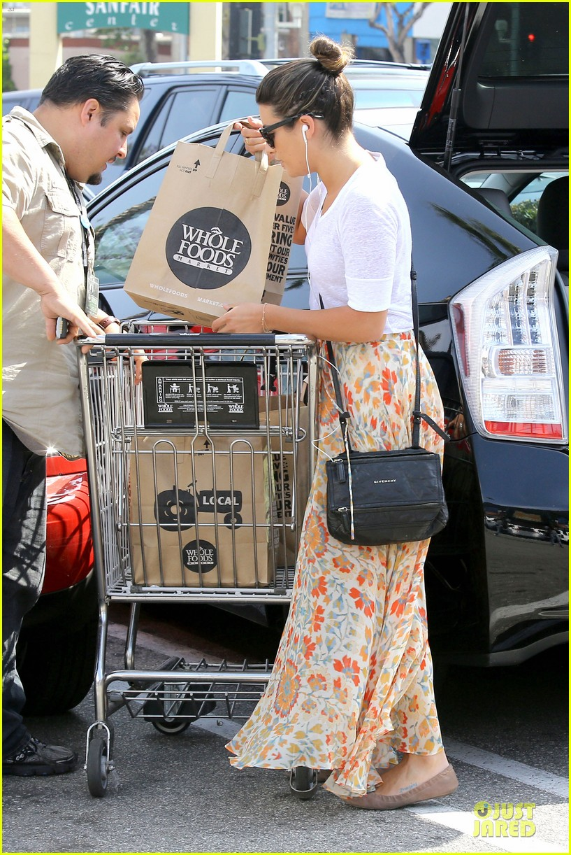 lea michele sheer grocery run cory monteith striped office meeting 352872615