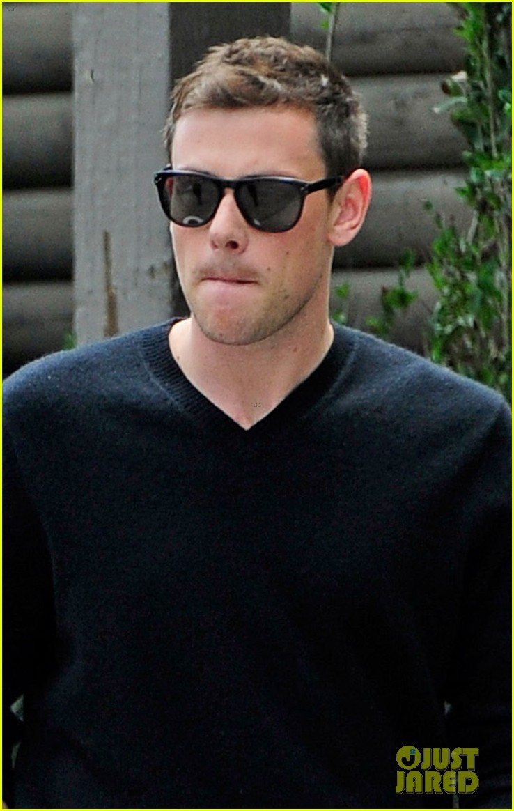 cory monteith steps out after glee creative twist revealed 02