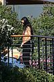 demi moore rocks bikini poolside in malibu 12